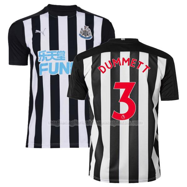 maglia dummett newcastle united gara home 2020-21